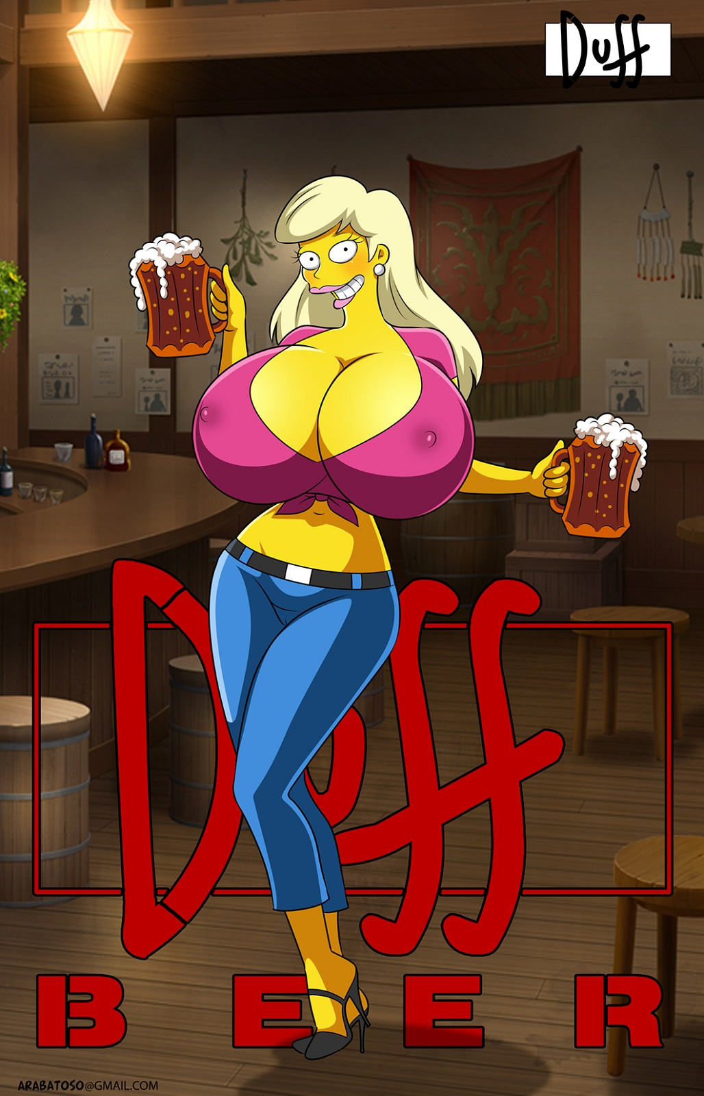 from simpsons naked marge the My hero academia villain deku fanfiction