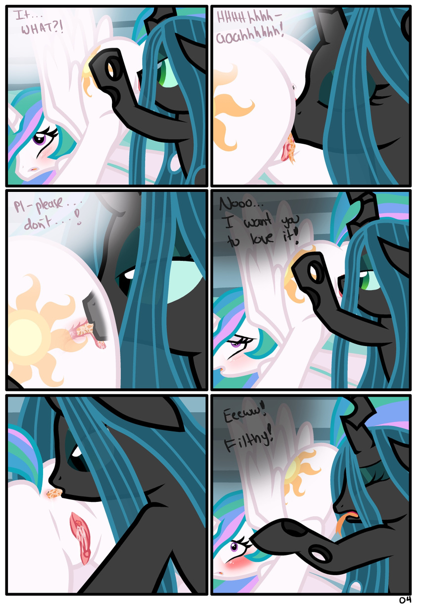 my pony queen chrysalis little Duchess foster home for imaginary friends