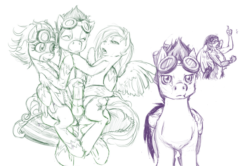 and pony my dash little rainbow soarin The legend of dragoon rose