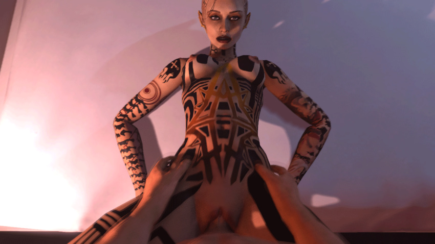 nude effect mass ryder sara Dead by daylight the wraith