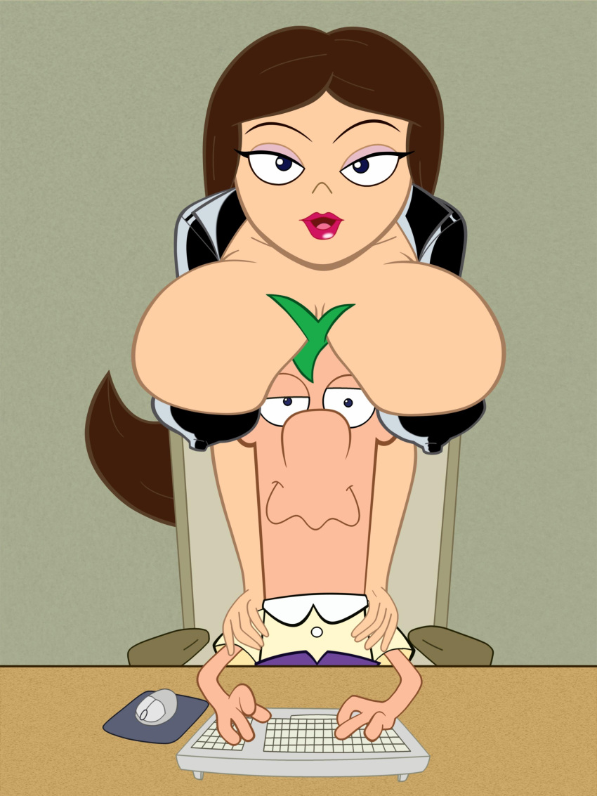 and xxx phineas vanessa ferb The seven heavenly virtues hentai